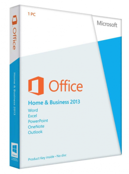 Microsoft Office 2013 Home & Business Product License Key