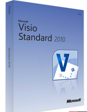 Microsoft Visio Standard 2010 Product License Key