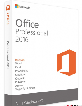 Microsoft Office 2016 Professional Product License Key